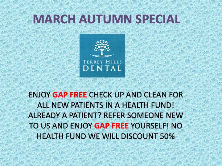 Terrey Hills Dental 2019 March promotion